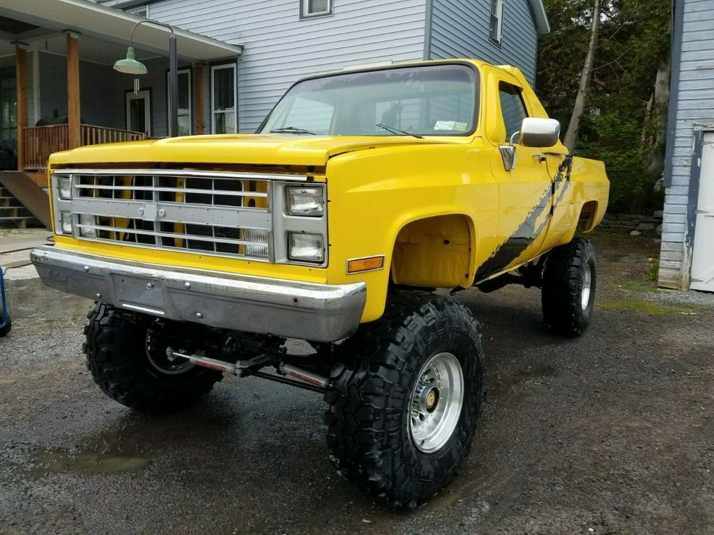 restored 1985 Chevrolet C/K Pickup 2500 K10 monster
