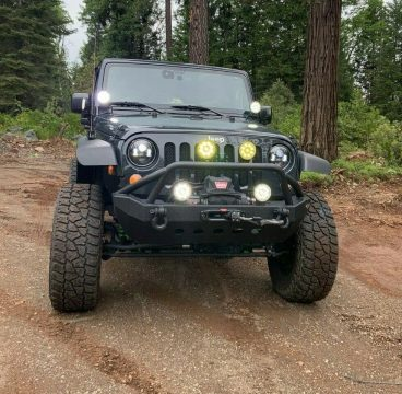 well upgraded 2017 Jeep Wrangler monster for sale