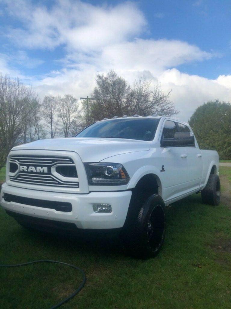 well upgraded 2018 Dodge Ram 2500 Big Horn Sport monster truck