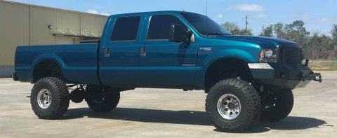 badass 2000 Ford F 350 XLT pickup monster for sale