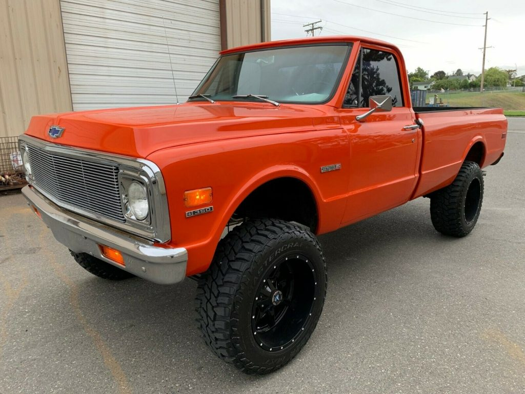 crate engine 1972 Chevrolet C 10 pickup monster