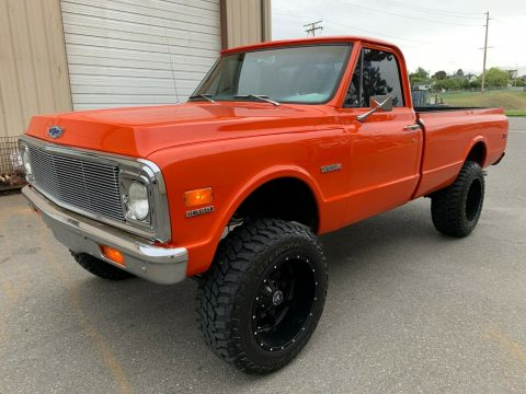 crate engine 1972 Chevrolet C 10 pickup monster for sale