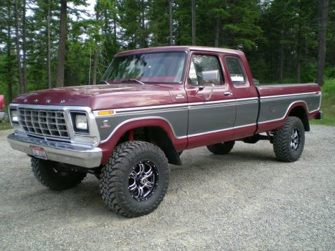 Cummins engine 1979 Ford F 250 Custom pickup monster for sale