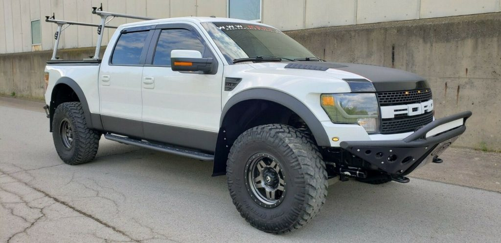highly built 2013 Ford F 150 SVT Raptor monster