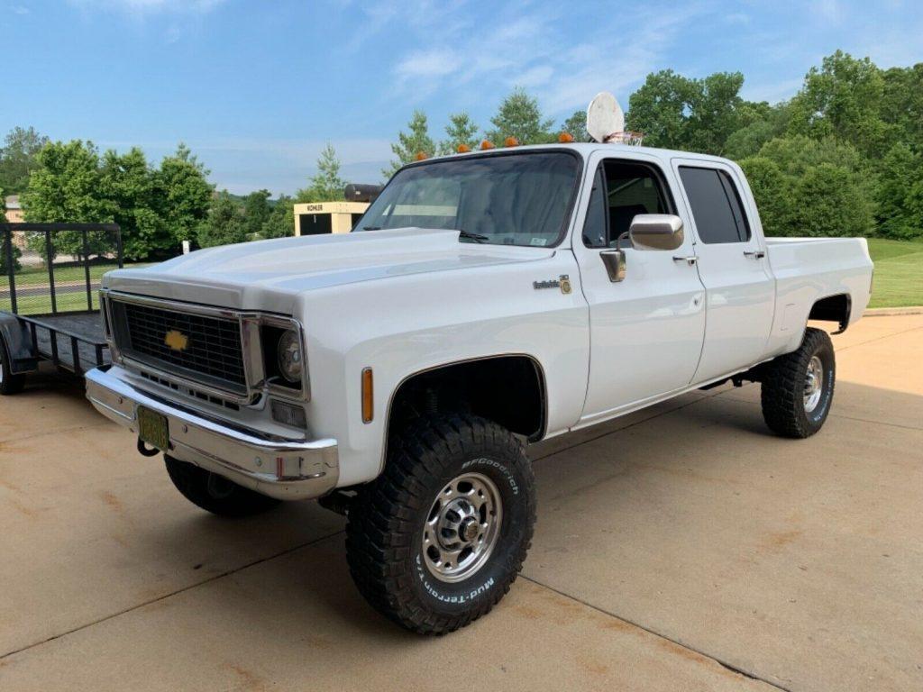 lifted 1976 Chevrolet 2500 Pickup monster