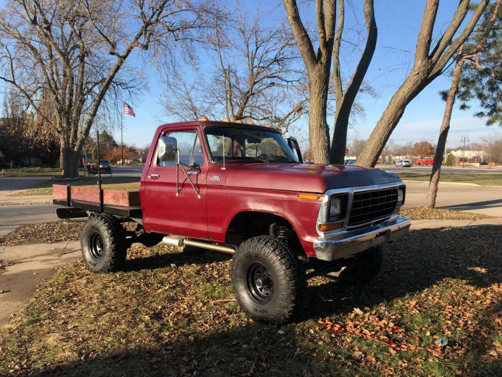 new parts 1979 Ford F 150 monster truck