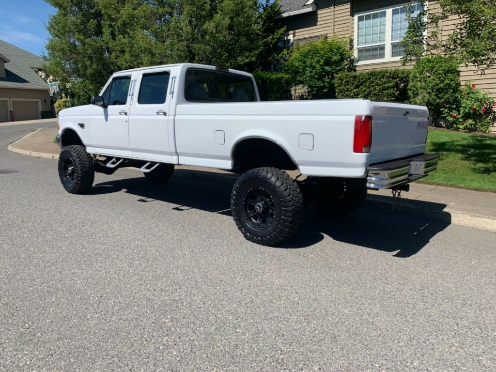 reliable 1997 Ford F 350 pickup monster