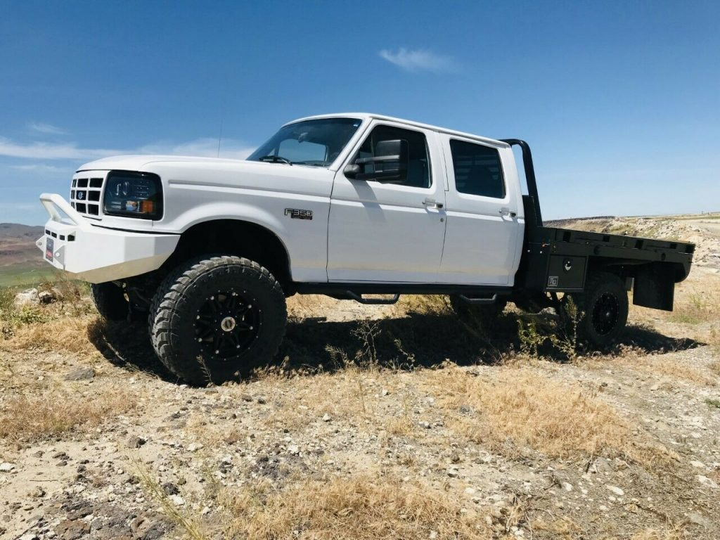 strong 1996 Ford F 350 XLT monster truck