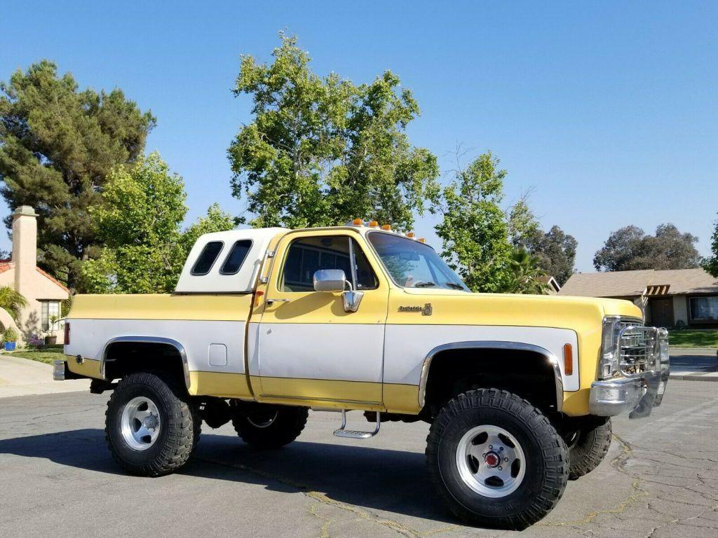 vintage 1979 Chevrolet C 10 C/K 1500 Pickup monster