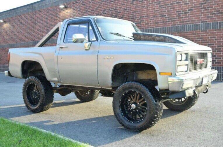 well modified 1985 Chevrolet C 10 1/2 Ton Stepside pickup monster
