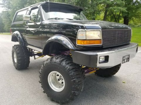 custom 1993 Ford Bronco XLT monster truck for sale