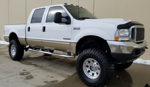 excellent shape 2001 Ford F 350 Lariat Leather Package monster for sale