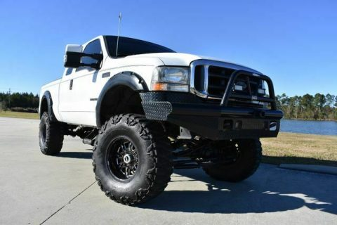 great shape 2001 Ford F 250 Lariat pickup monster for sale