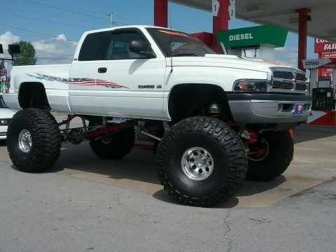 lifted 1996 Dodge Ram 1500 pickup monster for sale