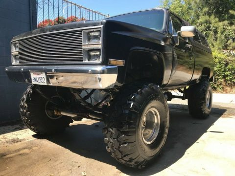 awesome 1984 Chevrolet C/K Pickup 1500 SILVERADO monster for sale