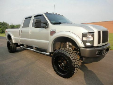 many upgrades 2008 Ford F 350 Super Duty pickup monster for sale