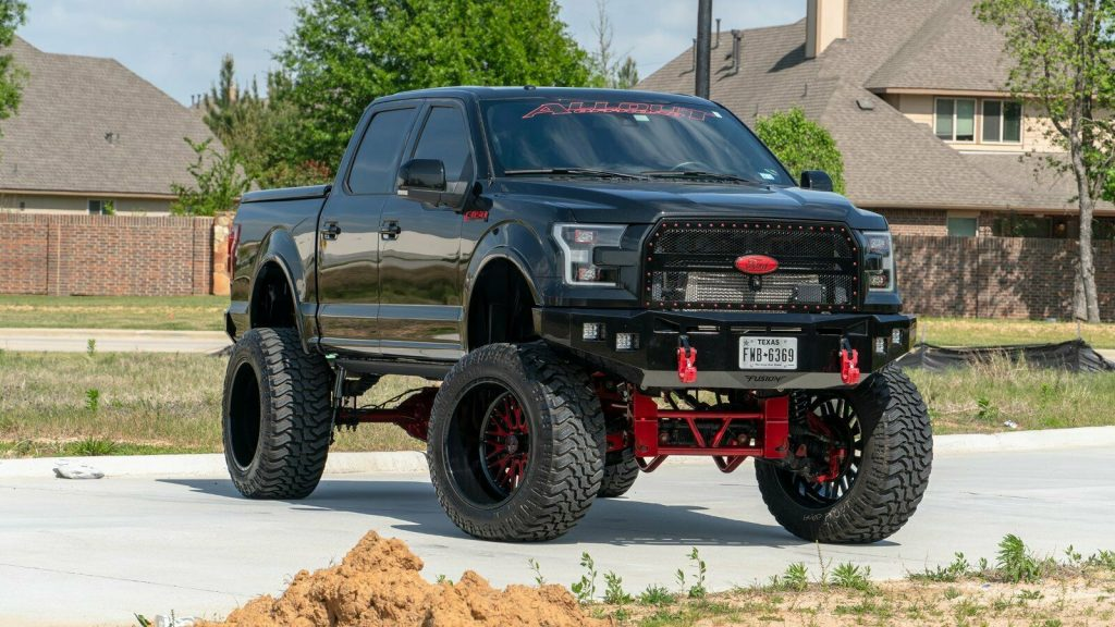 pro charged 2015 Ford F 150 Lariat monster truck