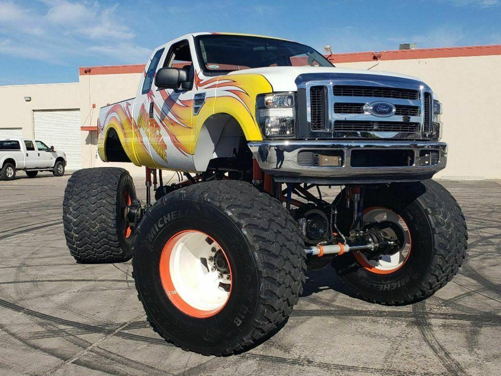 real monster 2008 Ford F 250 Overtime Monster Truck