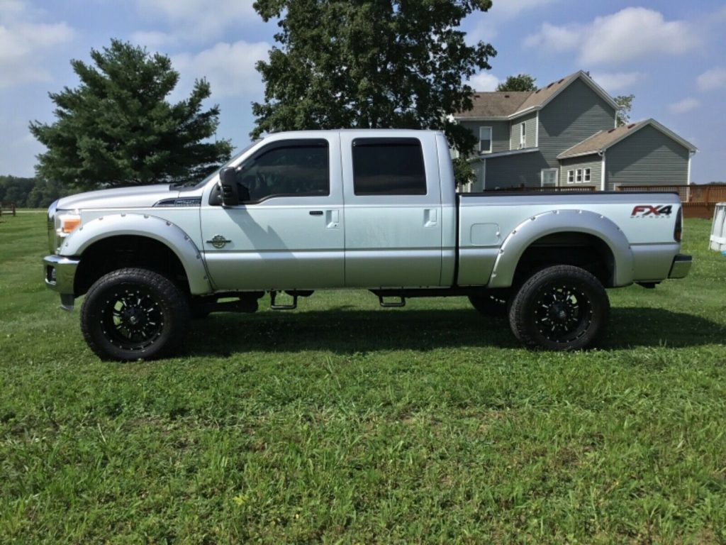 6 inch lift 2012 Ford F 250 Lariat Super Duty monster