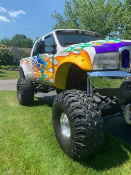 badass custom 1999 Ford F 250 monster for sale