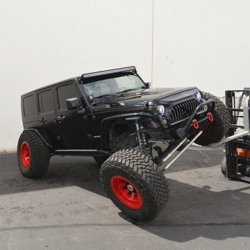 Hemi powered 2010 Jeep Wrangler Rubicon Unlimited monster for sale