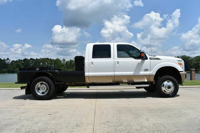 very clean 2012 Ford F 350 King Ranch monster