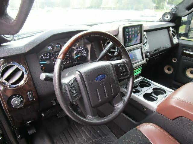 fully serviced and deatiled 2015 Ford F 350 Platinum monster