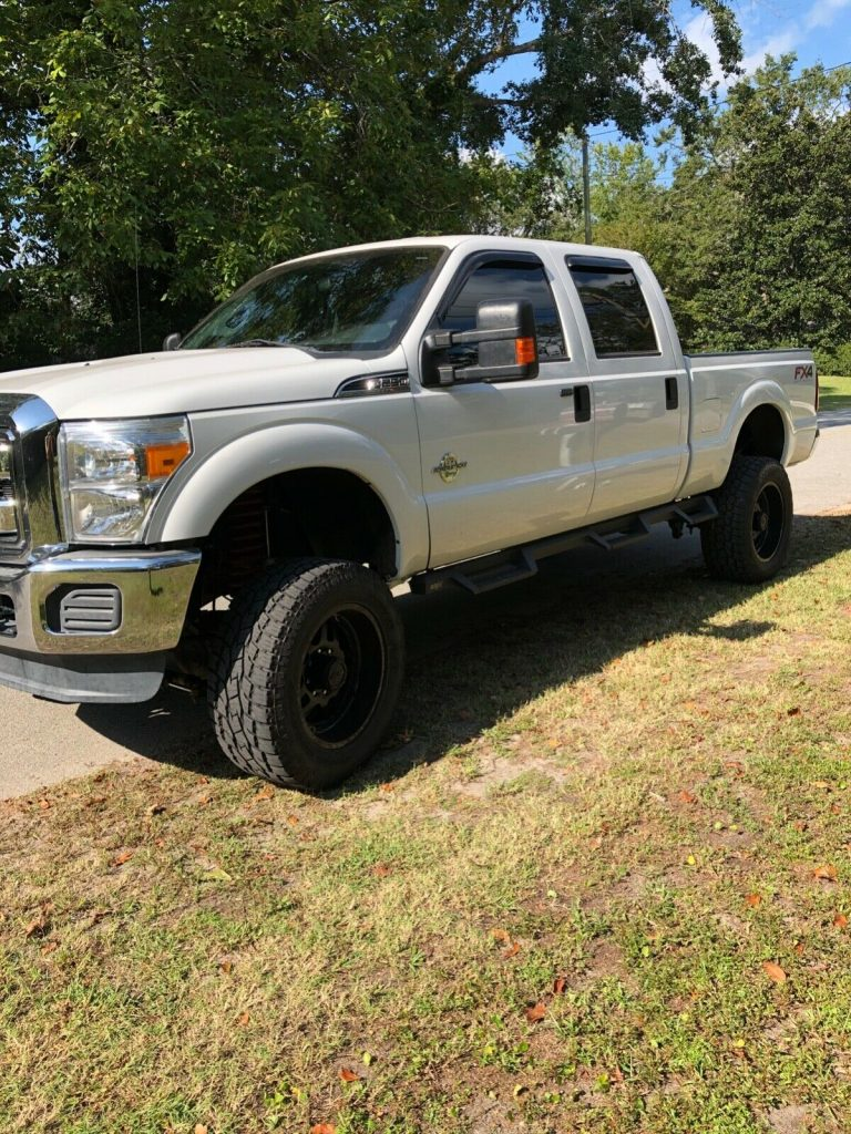 great running 2014 Ford F 250 Xlt monster