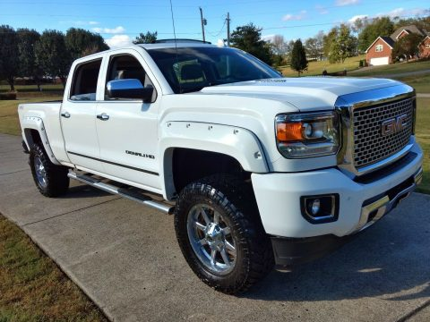 well equipped 2015 GMC Sierra 2500 Denali HD monster for sale