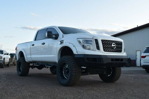 well modified 2016 Nissan Titan Pro4X monster for sale