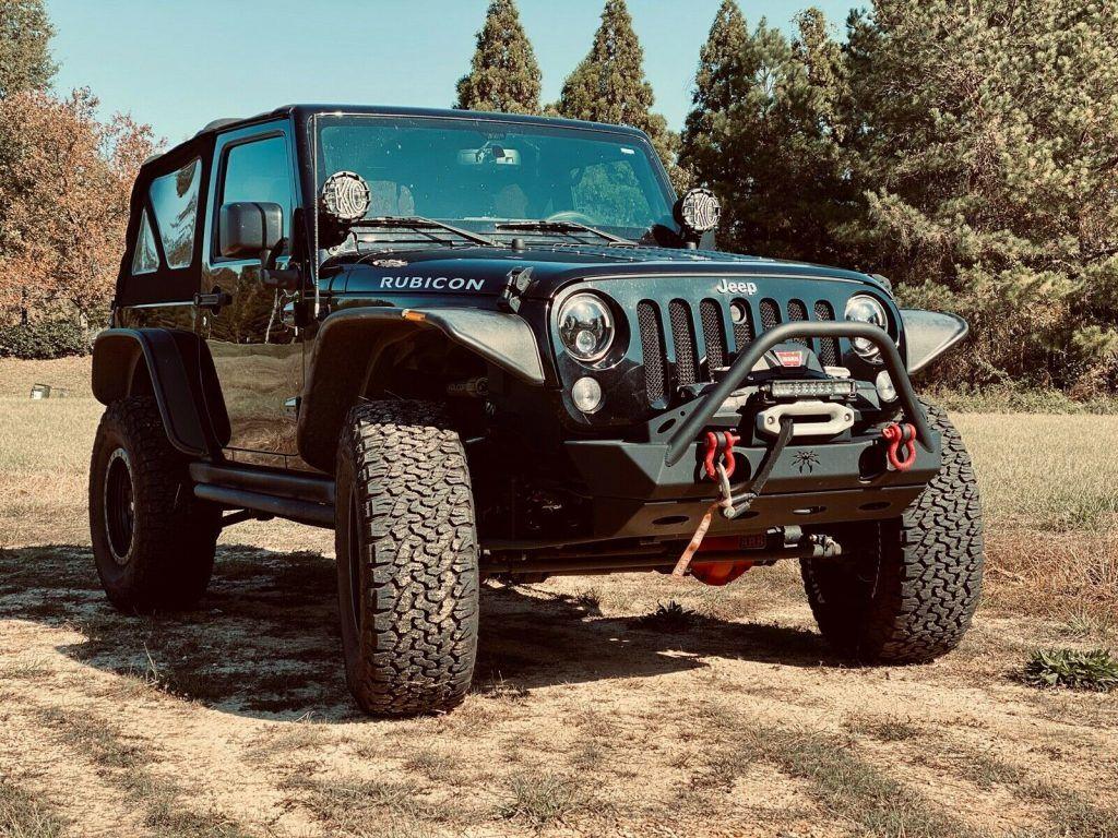 loaded 2015 Jeep Wrangler Rubicon monster