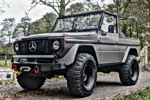upgraded 1988 Mercedes Benz G Class monster for sale