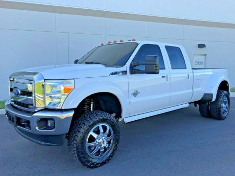 well optioned 2016 Ford F 350 LARIAT monster for sale