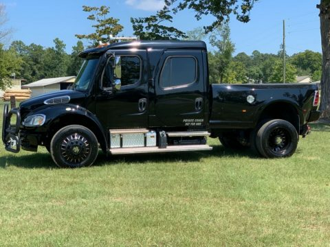badass 2014 Freightliner M2 106 Sport Chassis Custom hauler monster for sale