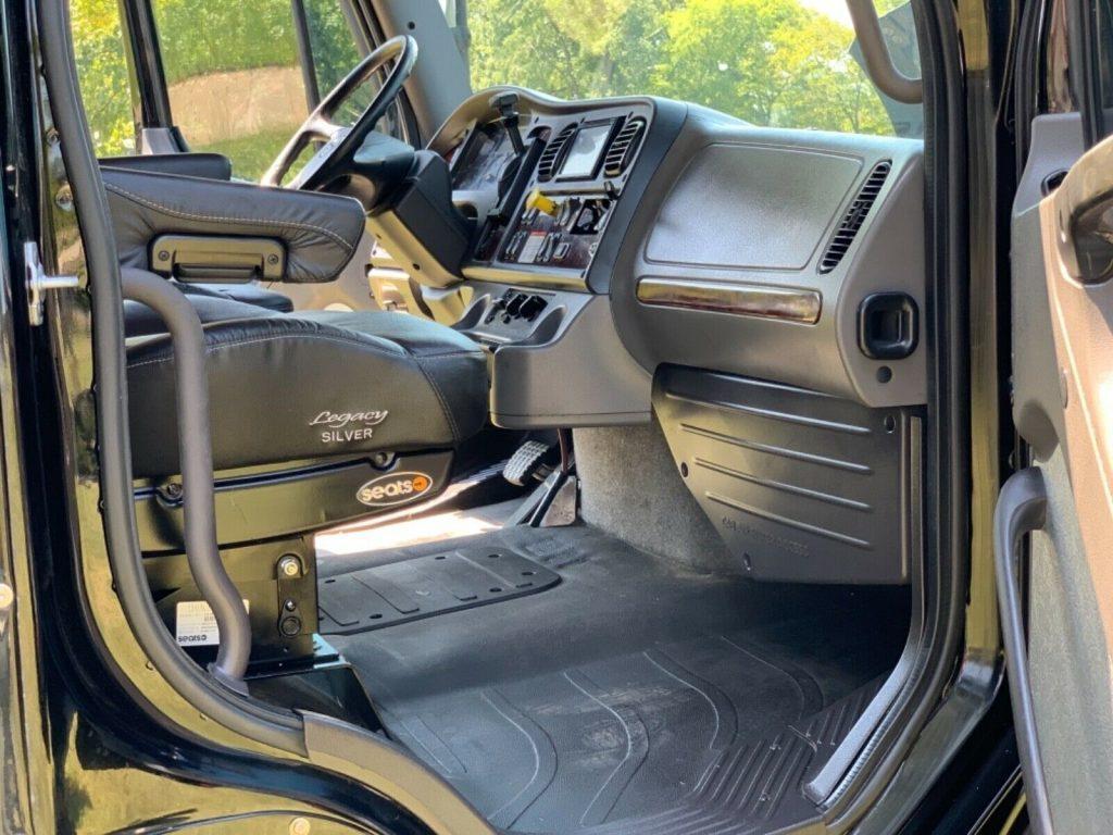 badass 2014 Freightliner M2 106 Sport Chassis Custom hauler monster