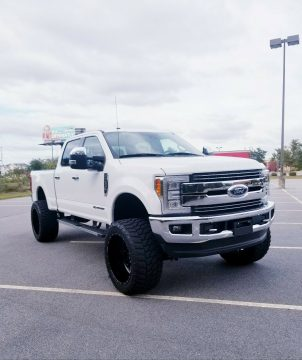 low miles 2017 Ford F 250 LARIAT monster for sale