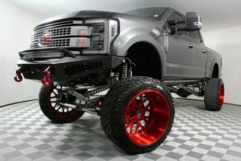 low miles 2017 Ford F 250 monster truck for sale