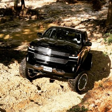 low miles 2018 Chevrolet Silverado 1500 LTZ monster for sale
