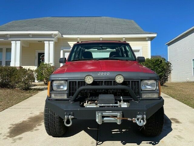 new parts 1996 Jeep Cherokee SE 4×4 monster
