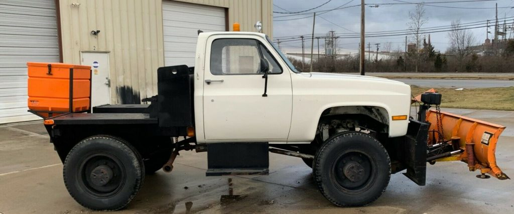 tug special 1986 Chevrolet C/K Pickup 3500 monster