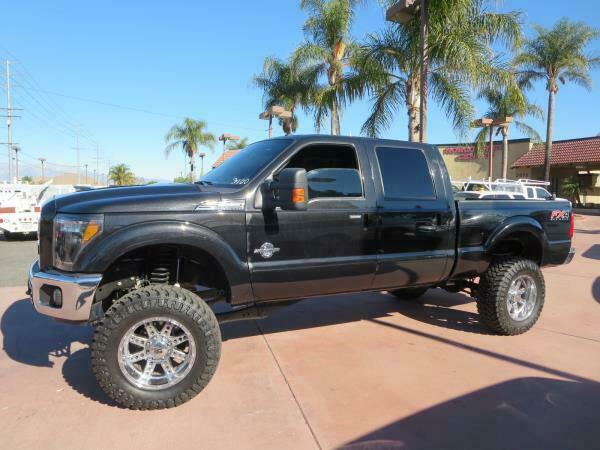 lifted 2012 Ford F-250 LARIAT monster
