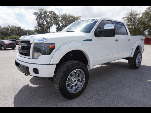 nice and clean 2013 Ford F 150 XLT Supercrew monster for sale