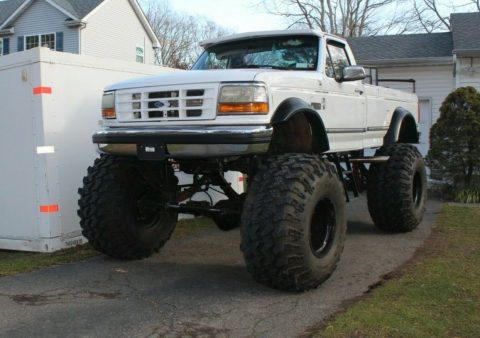 one of a kind 1992 Ford F 250 XLT monster for sale