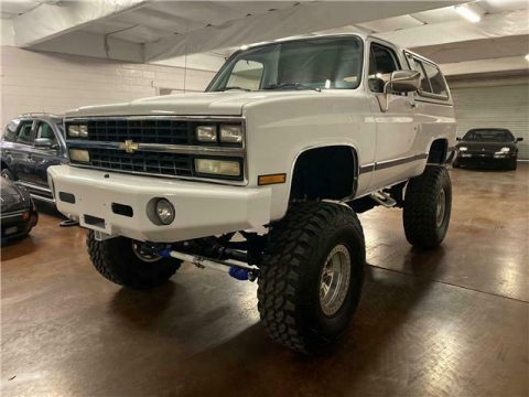 rust free 1990 Chevrolet Blazer K5 Silverado monster for sale