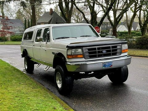 rust free 1995 Ford F 350 XL monster for sale