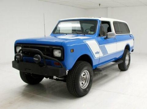 very nice 1980 International Scout monster for sale
