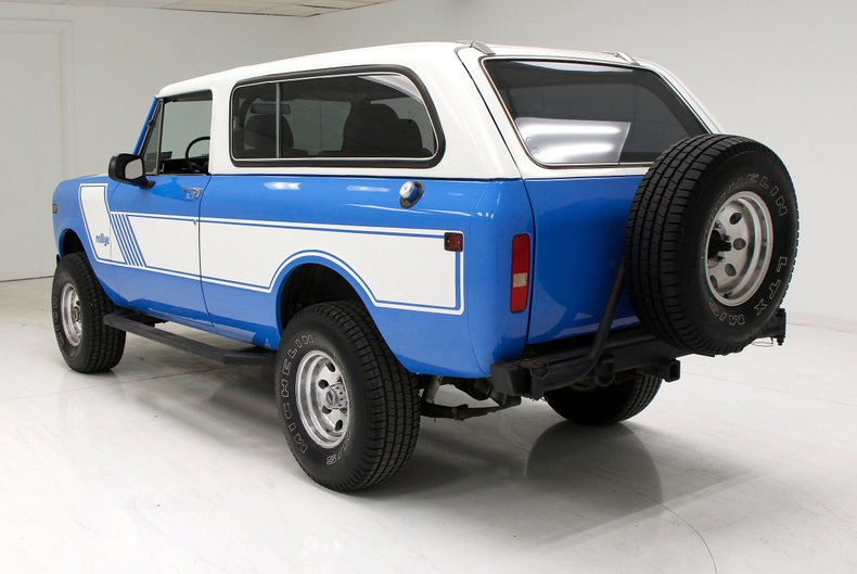 very nice 1980 International Scout monster
