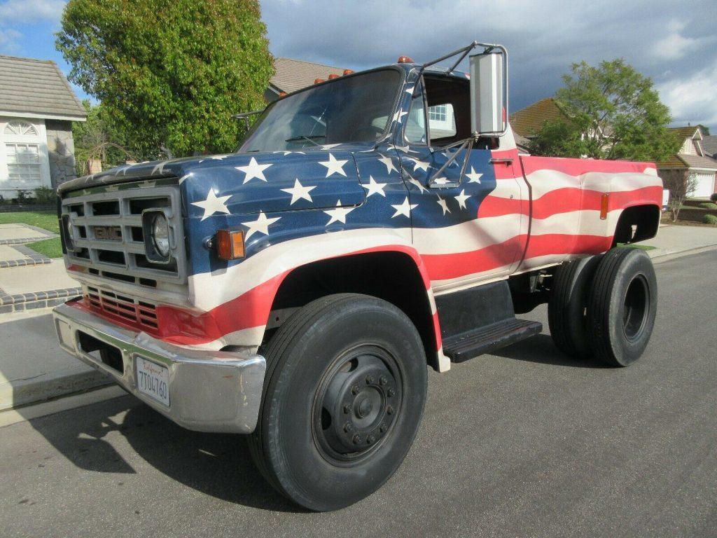 modified 1979 GMC C7000 monster truck