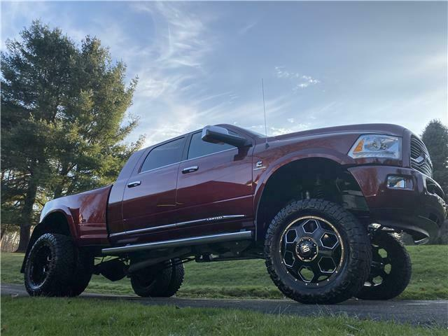 well equipped 2016 Ram 3500 Longhorn Limited monster