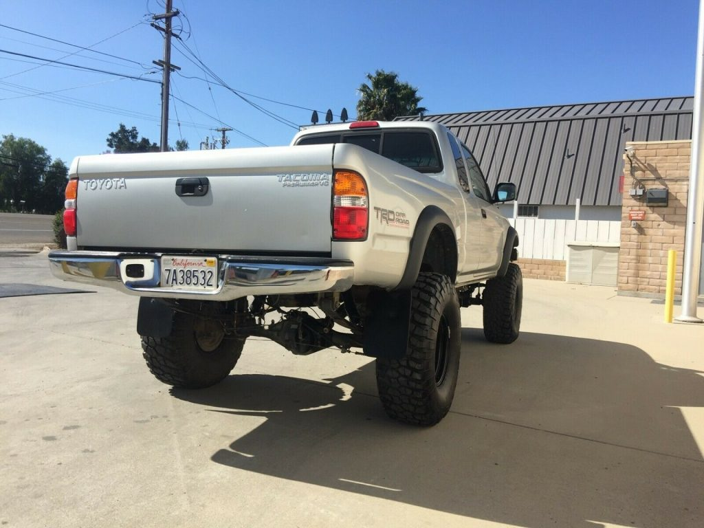 converted 2003 Toyota Tacoma monster